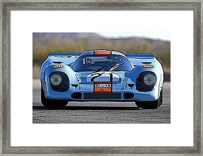 Porsche 917 Shorttail Framed Print