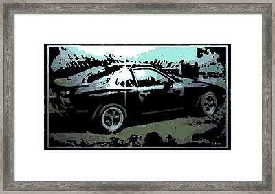 Porsche 944 Framed Print