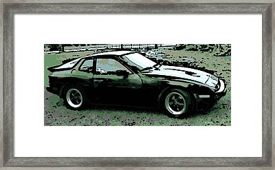 Porsche 944 On A Hot Afternoon Framed Print
