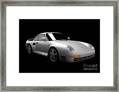 Porsche 959 Framed Print