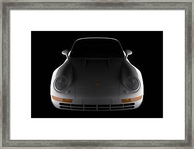 Porsche 959 - Front View Framed Print