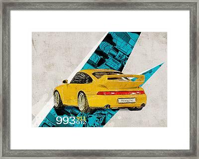 Porsche 993 Gt2 Framed Print