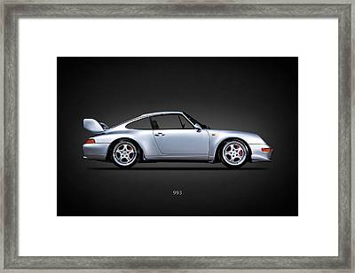 Porsche 993 Framed Print by Mark Rogan