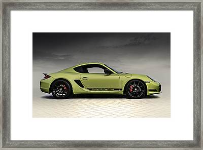 Porsche Cayman R Framed Print