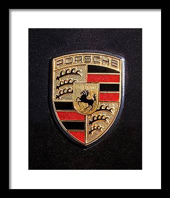 Emblem Framed Prints