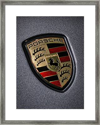 Porsche Framed Print by Gordon Dean II