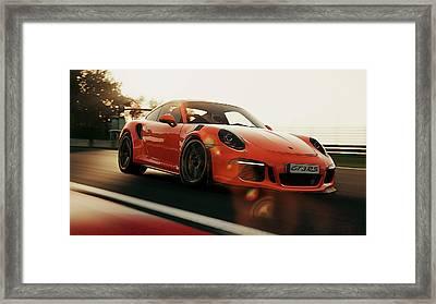 Porsche Gt3 Rs - 4 Framed Print