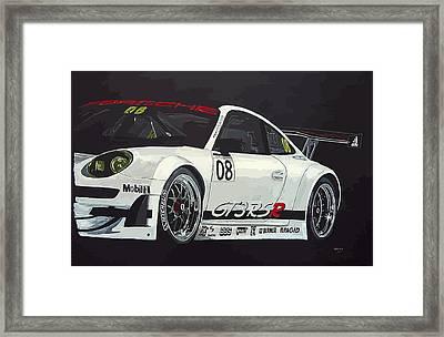 Porsche Gt3 Rsr Framed Print