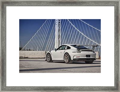 Framed Print featuring the photograph Porsche Gt3rs by ItzKirb Photography