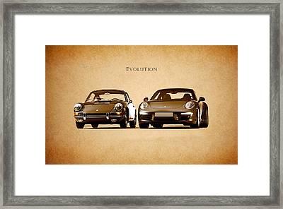 Porsche Framed Print by Mark Rogan