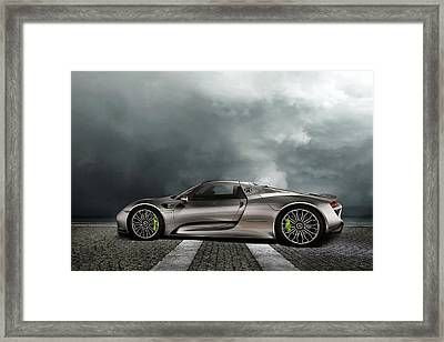 Porsche Spyder Framed Print