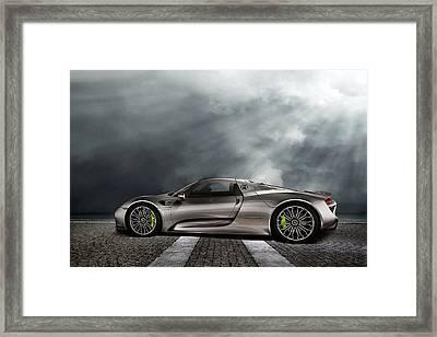 Porsche Spyder V2 Framed Print