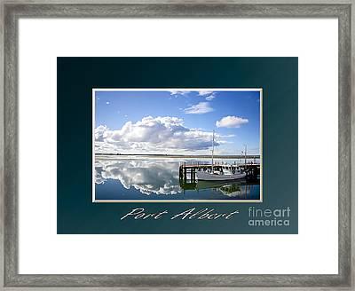 Port Albert Framed Print