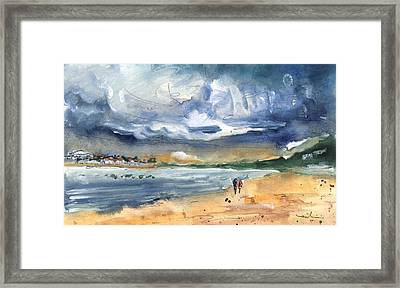 Port Alcudia Beach 03 Framed Print by Miki De Goodaboom