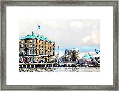 Port Authority Building Copenhagen Framed Print