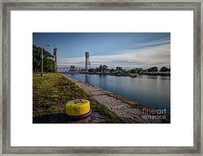 Port Colborne Framed Print