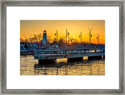Port Credit 3 Framed Print