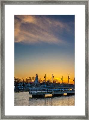 Port Credit 4 Framed Print