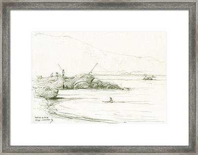 Port De La Selva Framed Print by Juan Bosco