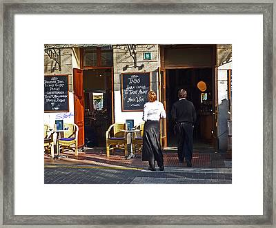 Port De Soller Framed Print