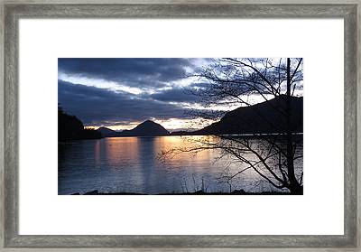 Port Eau Cove Framed Print