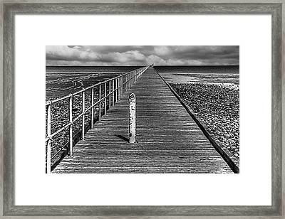 Port Germein Long Jetty Framed Print