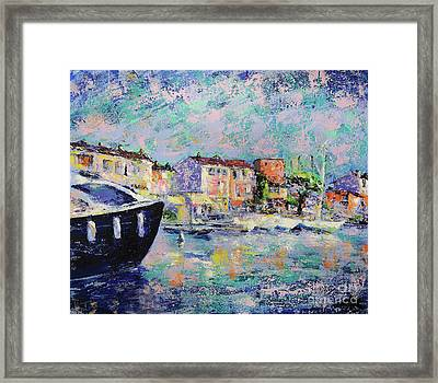 Port Grimaud  Framed Print by Denys Kuvaiev