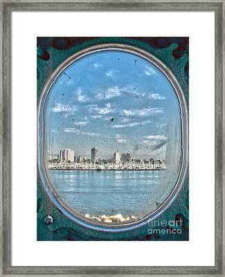 Port Hole  Framed Print