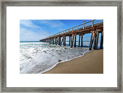 Port Hueneme Fishing Pier Framed Print