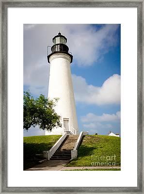 Port Isabel Lighthouse Framed Print