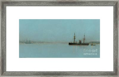 Port Light Framed Print