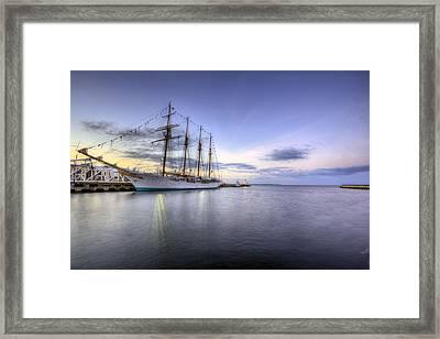 Port Of Call Pensacola Framed Print