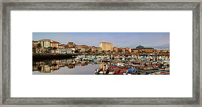 Framed Print featuring the photograph Port Of Ferrol Galicia Spain by Pablo Avanzini