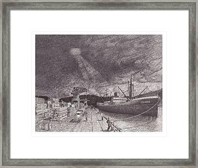 Port Of Tacoma Wa Waterfront Framed Print by Jack Pumphrey