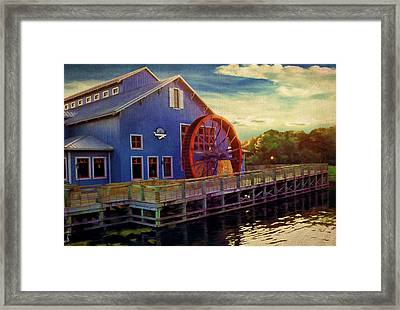 Port Orleans Riverside Framed Print by Lourry Legarde