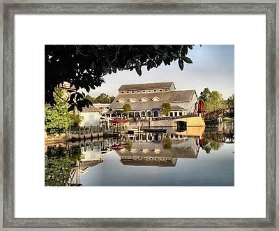 Port Orleans Riverside Framed Print