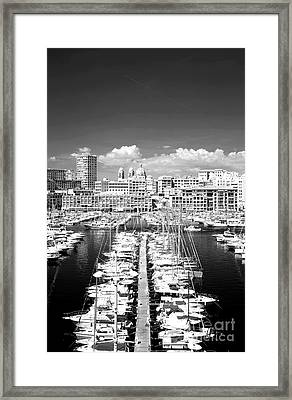Port Parking Only Framed Print by John Rizzuto