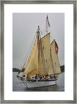 Port Side Framed Print