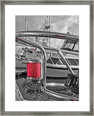Port Framed Print by Thom Zehrfeld