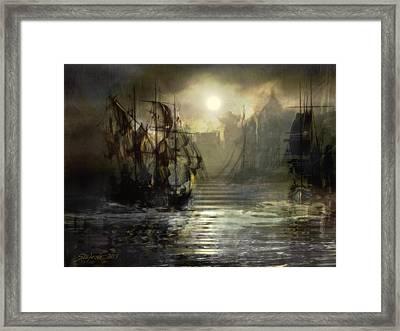 Port Tortuga Framed Print