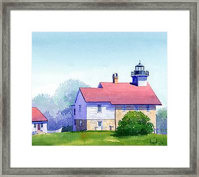 Port Washington Lighthouse Framed Print