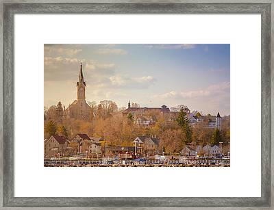 Port Washington Skyline Framed Print