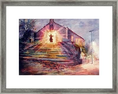 Porta Coeli Framed Print by Estela Robles