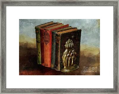 Framed Print featuring the digital art Portable Magic by Lois Bryan