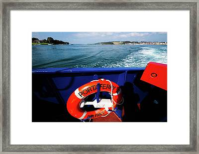 Portaferry Ferry Framed Print