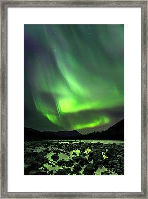 Portage Green Framed Print by Ed Boudreau