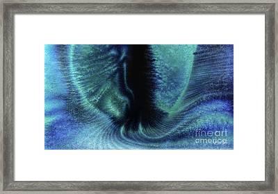 Portal Between Worlds Framed Print by Al Sabid Torres