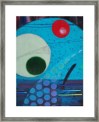 Portal Framed Print by Mark Lubich