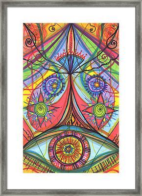 Portal Of Desire Framed Print