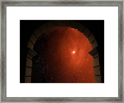 Portal To Ophiuchus  Framed Print by Jim DeLillo